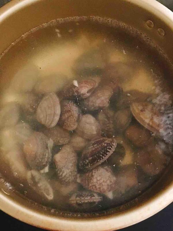 爆炒花蛤的做法图解
