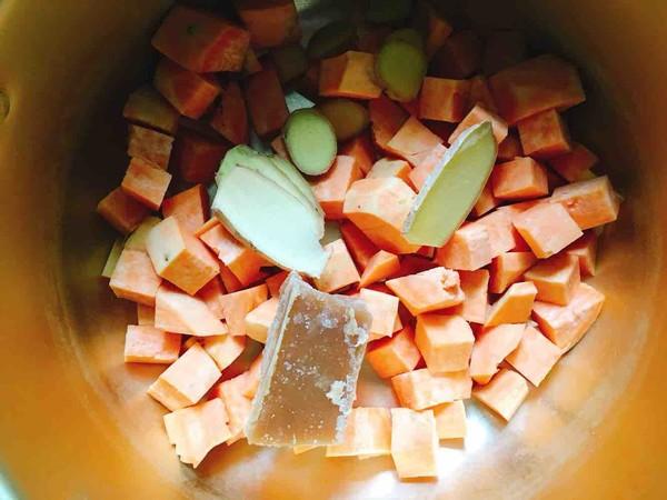 红薯姜糖水的家常做法