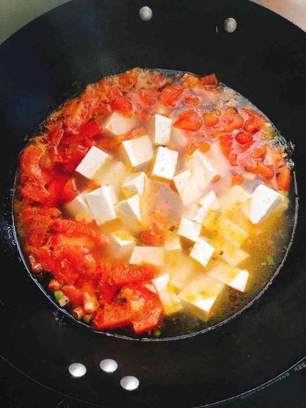 西红柿豆腐汤怎么做