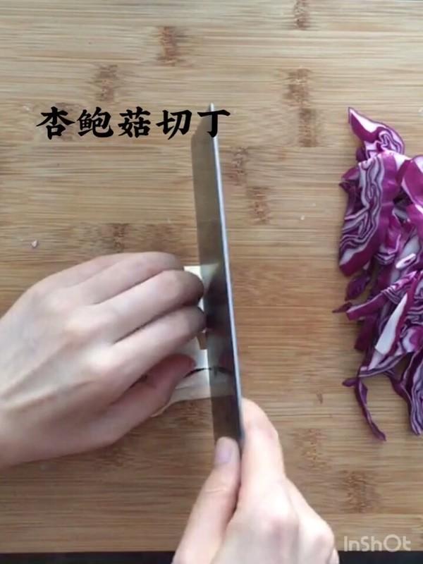 烤冷面卷饭的做法图解