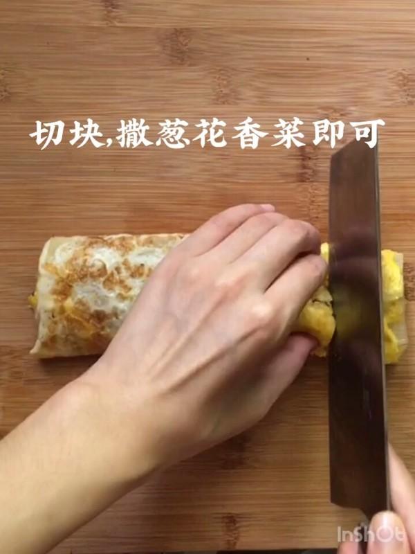 烤冷面卷饭怎么炖