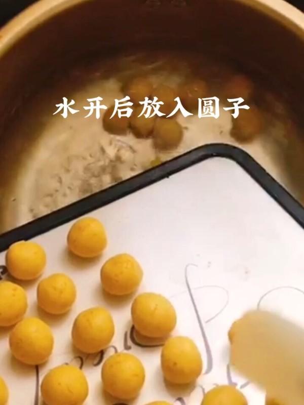 桂花米酒小圆子的简单做法
