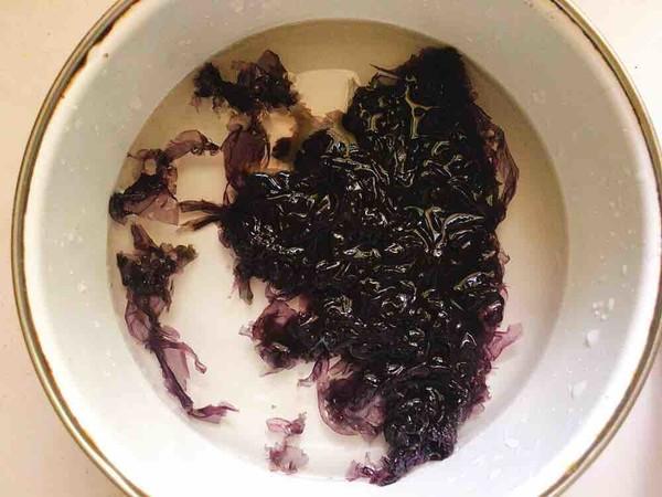 紫菜蛋花粥的做法图解