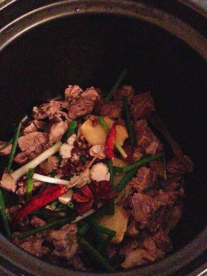 萝卜牛腩汤的简单做法