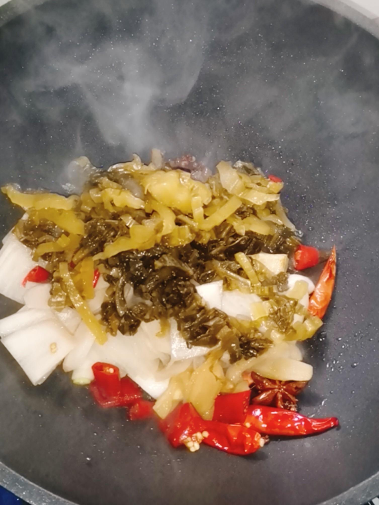 酸菜鱼怎么炒
