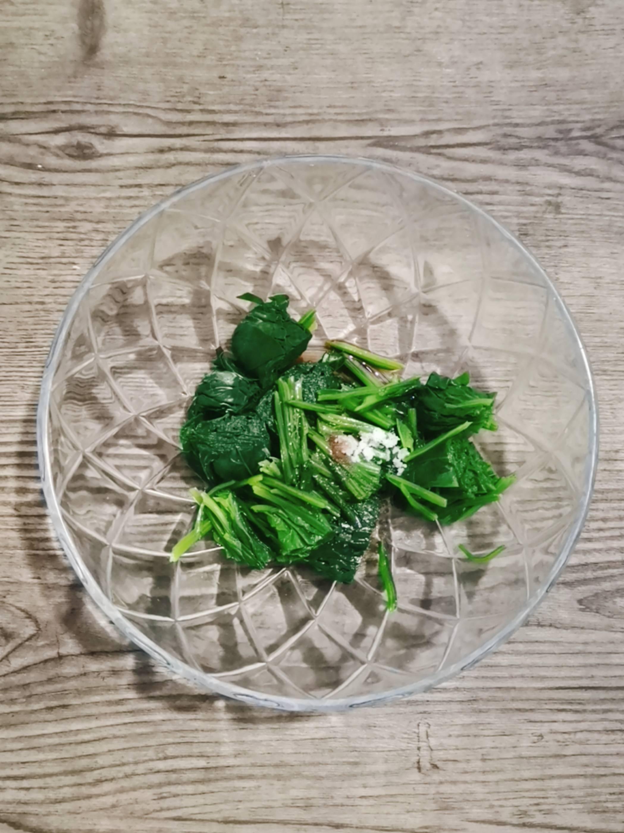 果仁菠菜怎么吃