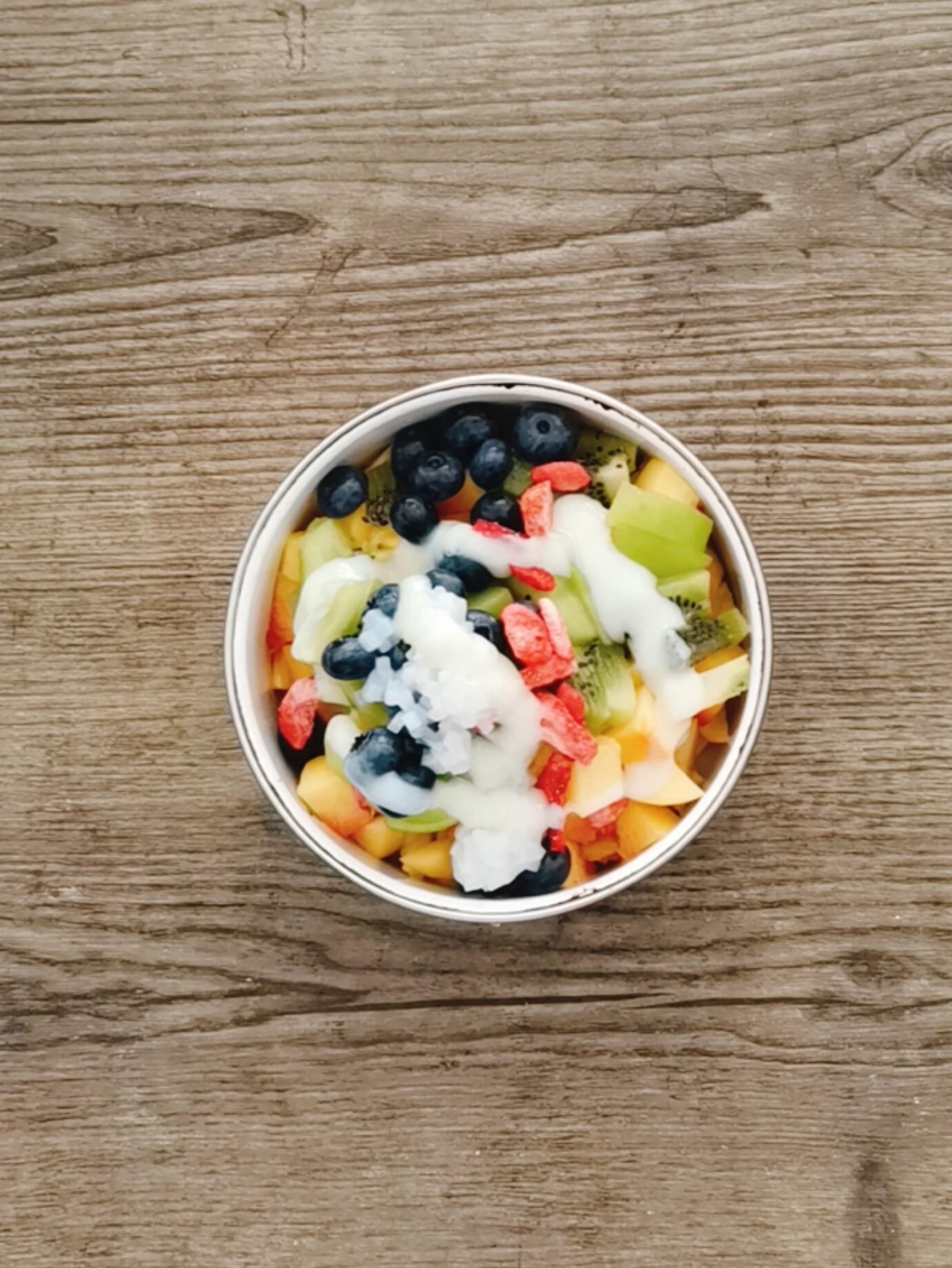 榴莲酸奶水果捞怎么煮