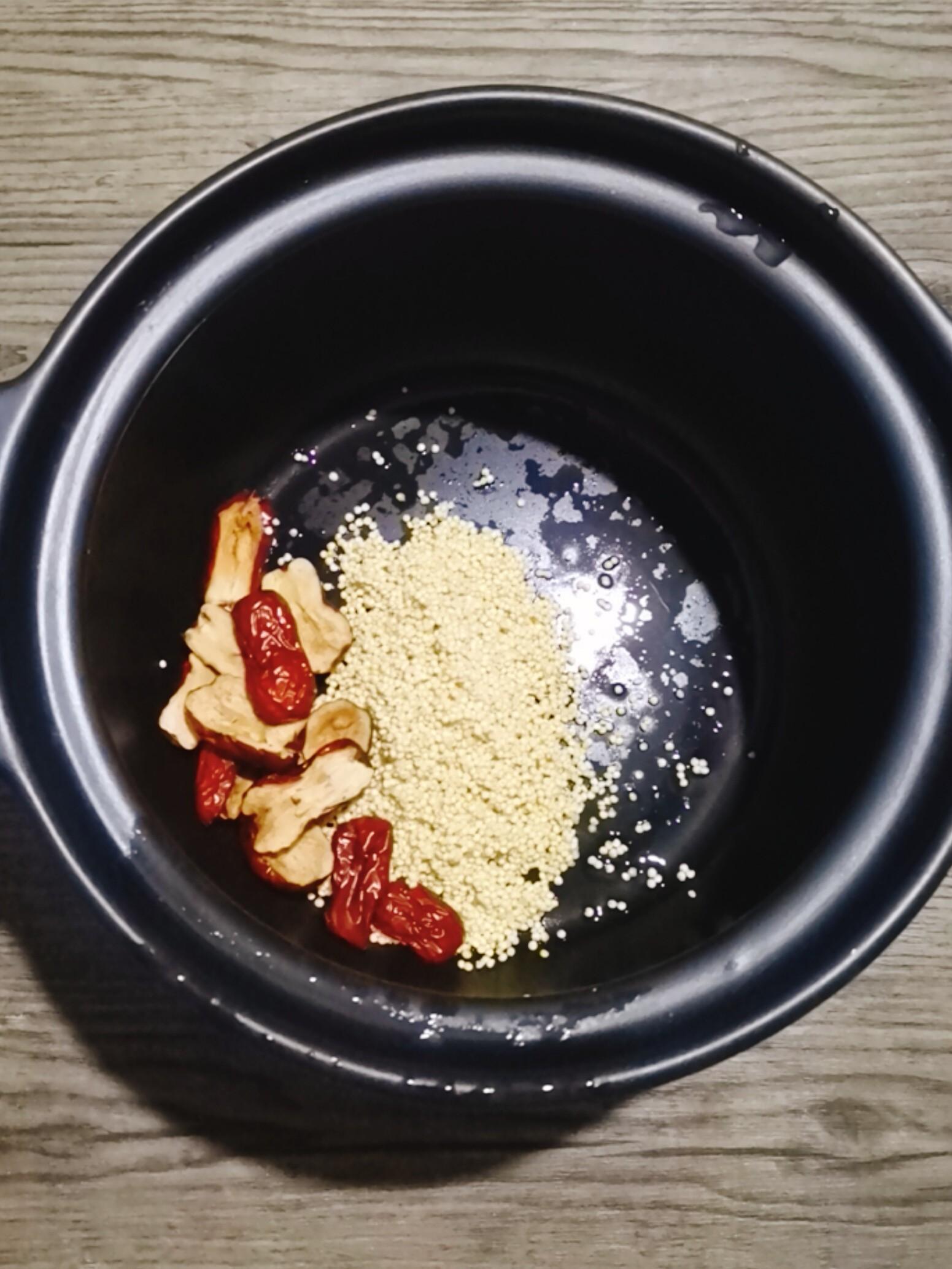 红枣小米粥的简单做法