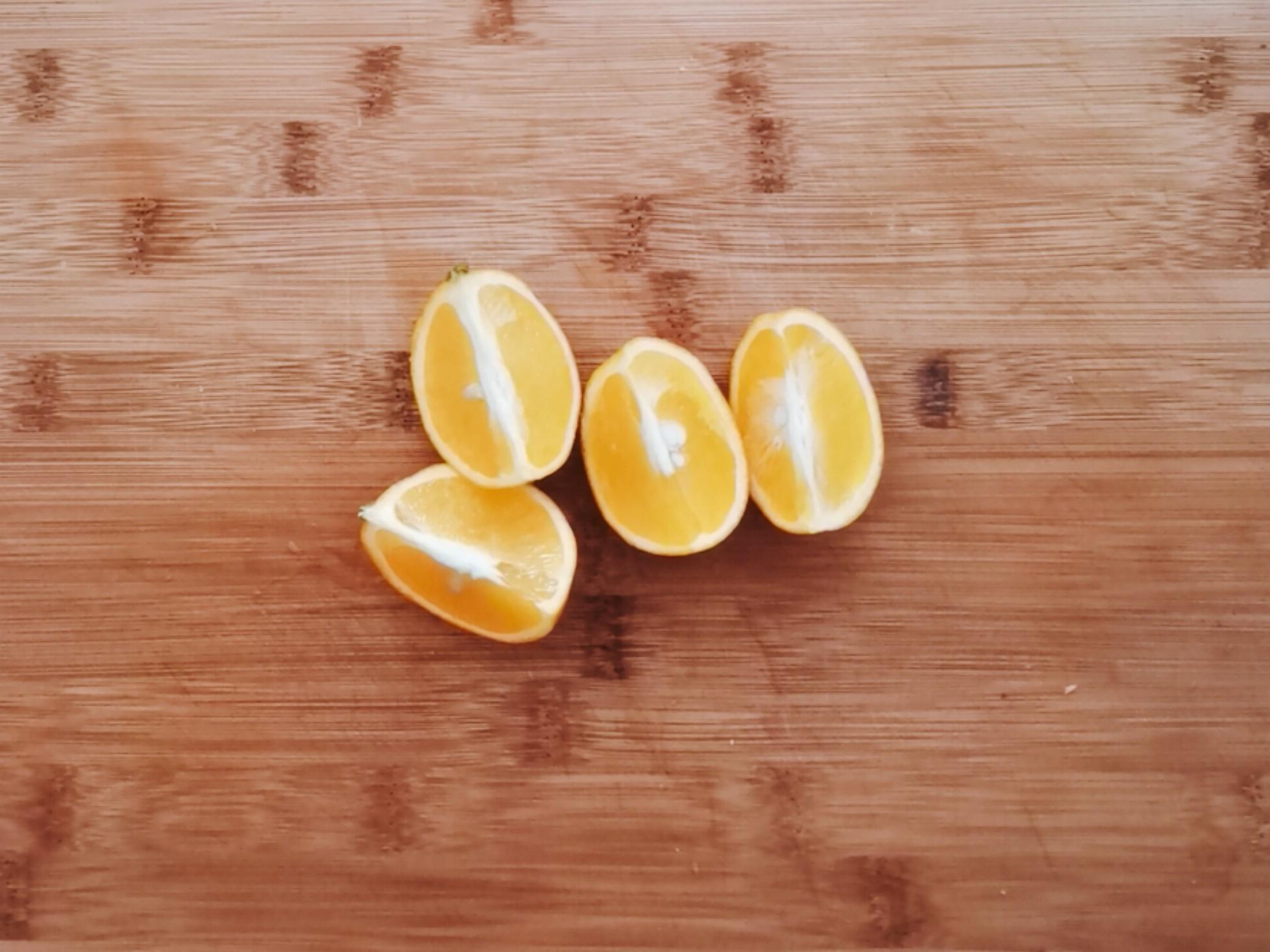 做法简单的好喝果汁,补充满满维生素的步骤