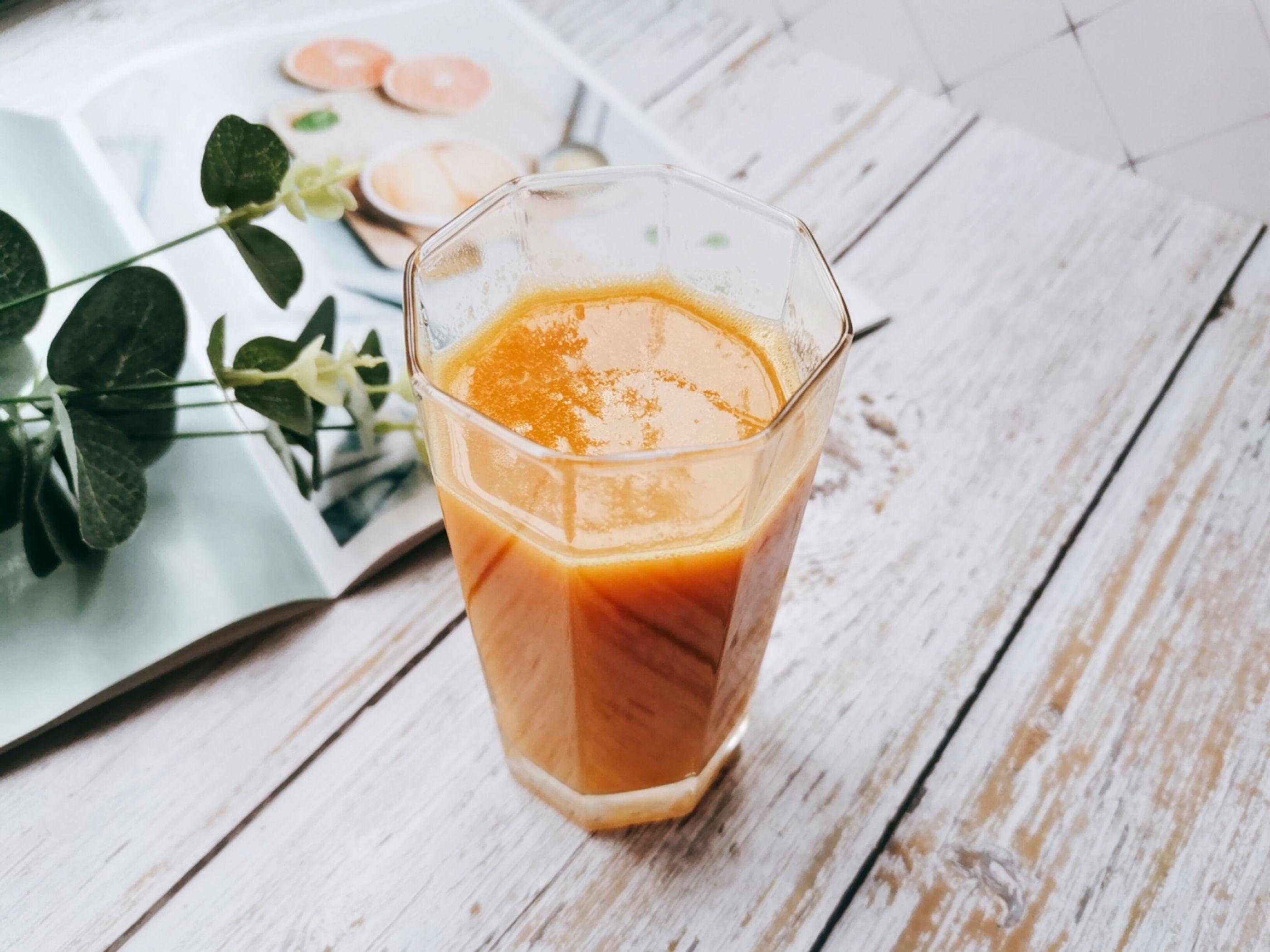 做法简单的好喝果汁,补充满满维生素成品图