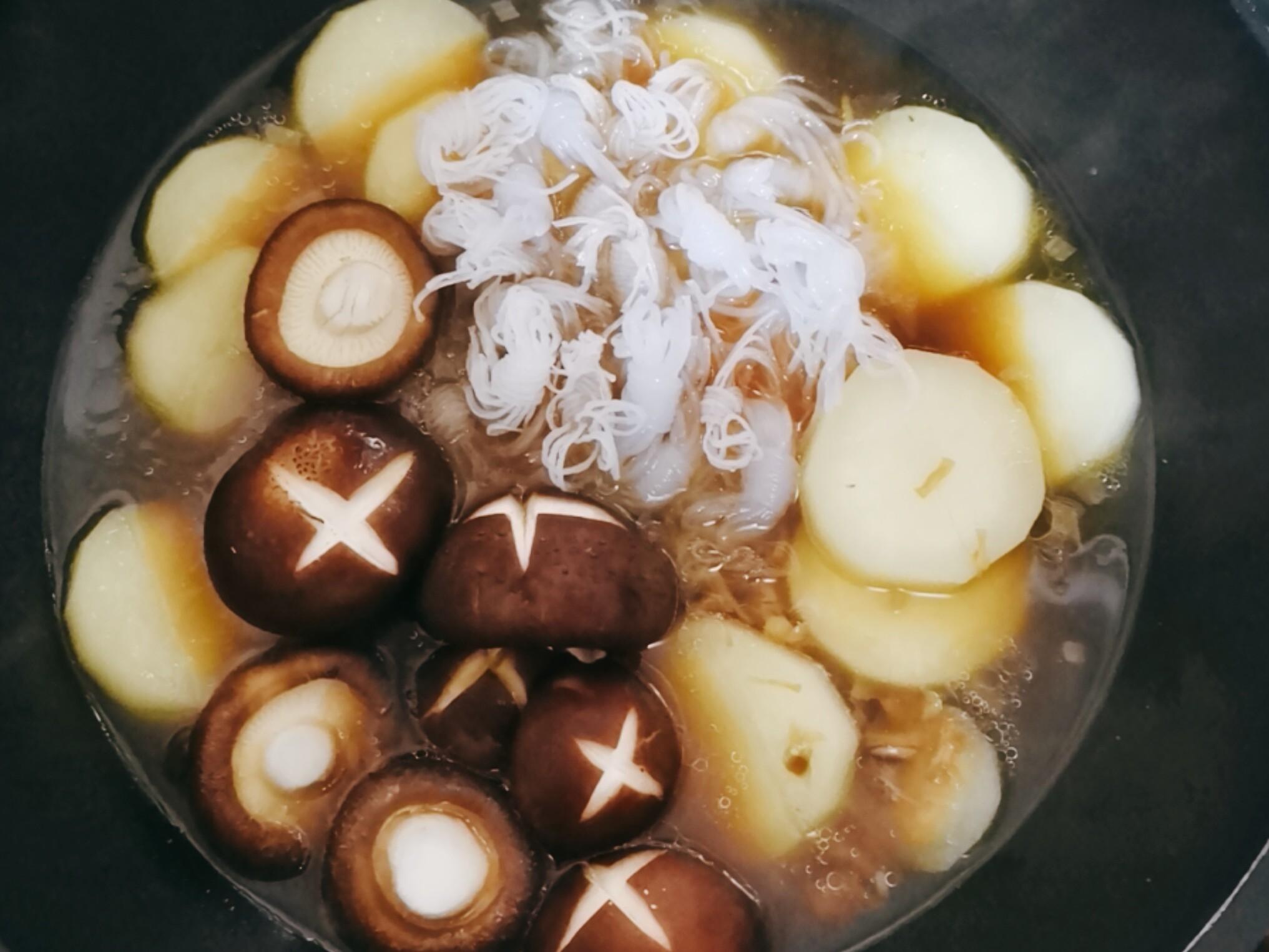 香菇萝卜煲怎么吃