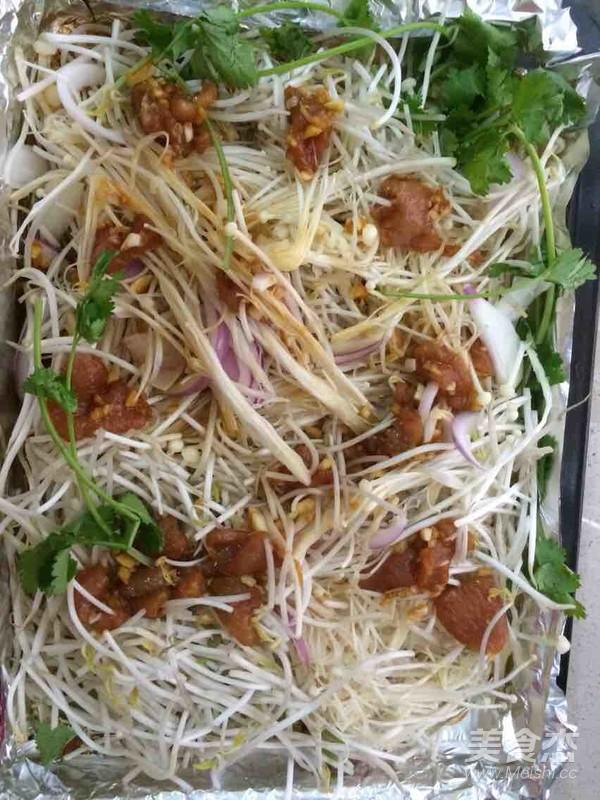 豆芽金针菇的做法图解