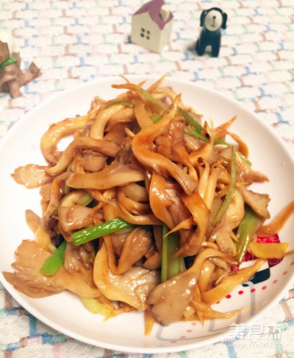 清炒蘑菇怎么做