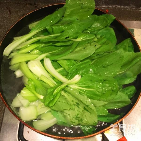香菇炒青菜的简单做法