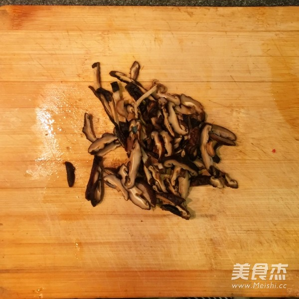 香菇炒青菜的做法图解