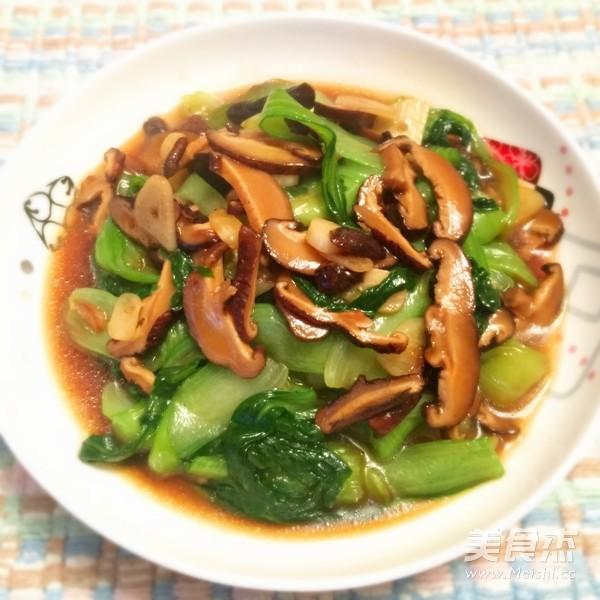 香菇炒青菜怎么煮