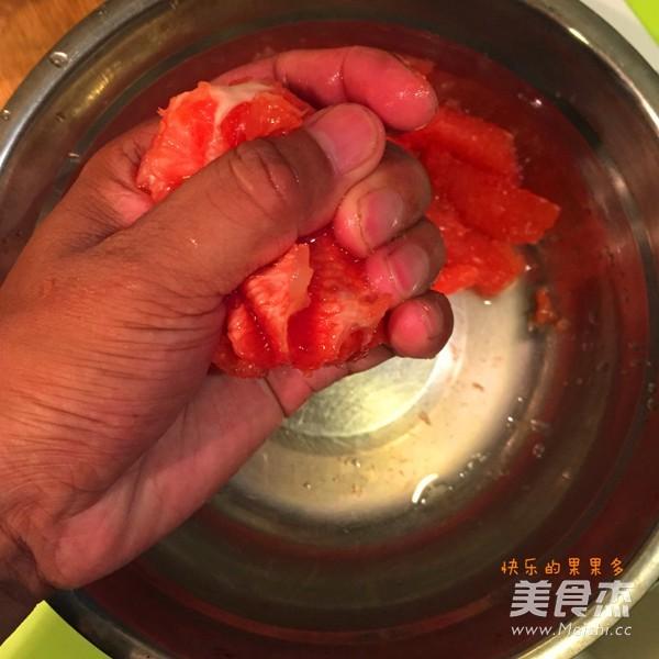 红苹果葡萄柚果酱的简单做法