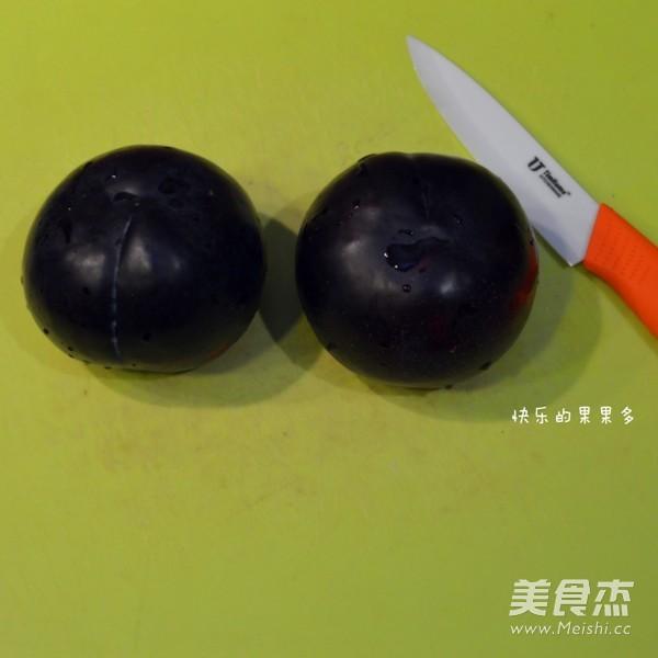 红苹果李子果酱的简单做法