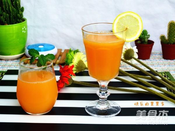 哈蜜瓜柠檬汁的家常做法