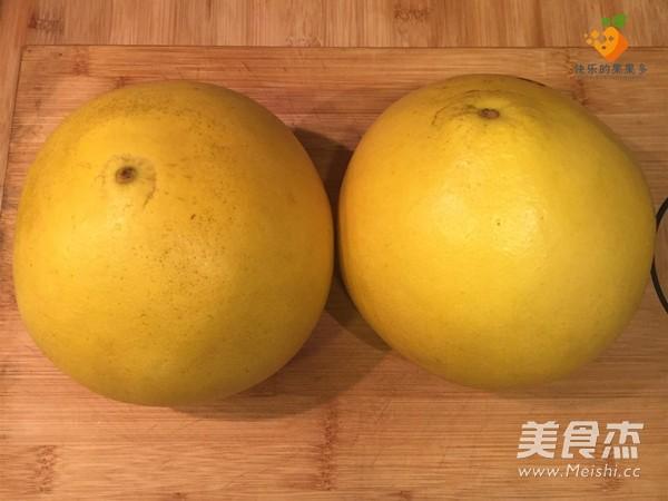 自制蜂蜜柚子茶的做法图解