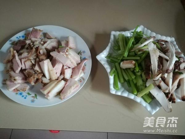 芹菜香菇肉片的做法图解