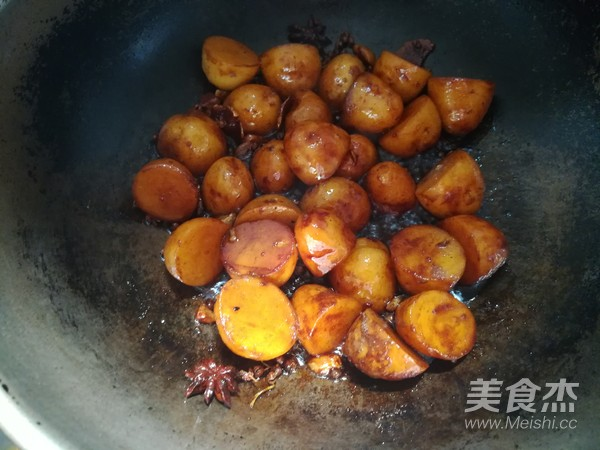 红烧土豆怎么煸