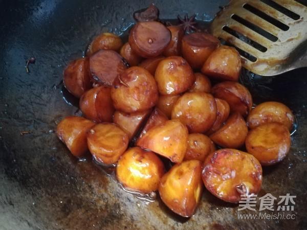 红烧土豆怎样炒