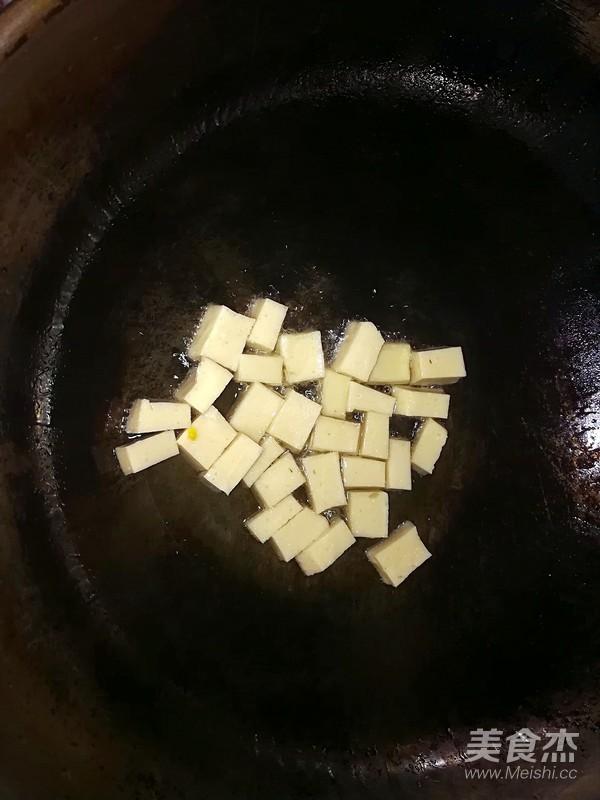 快手千叶豆腐鸡蛋汤的家常做法