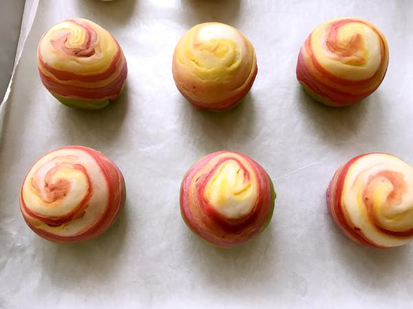彩虹蛋黄酥的制作