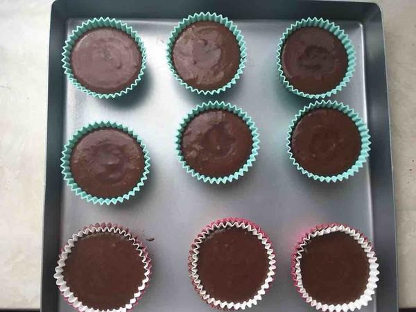 巧克力杯子蛋糕的制作