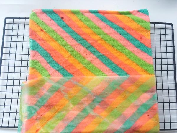 彩虹蛋糕怎样煸
