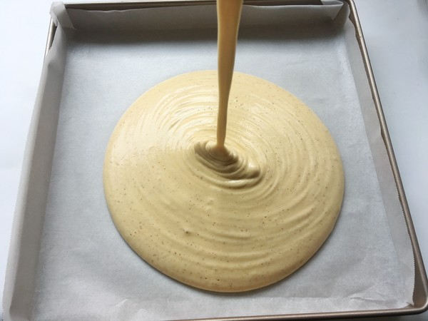 枣泥奶冻蛋糕卷的制作