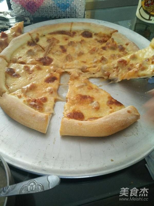 美式披萨怎么吃