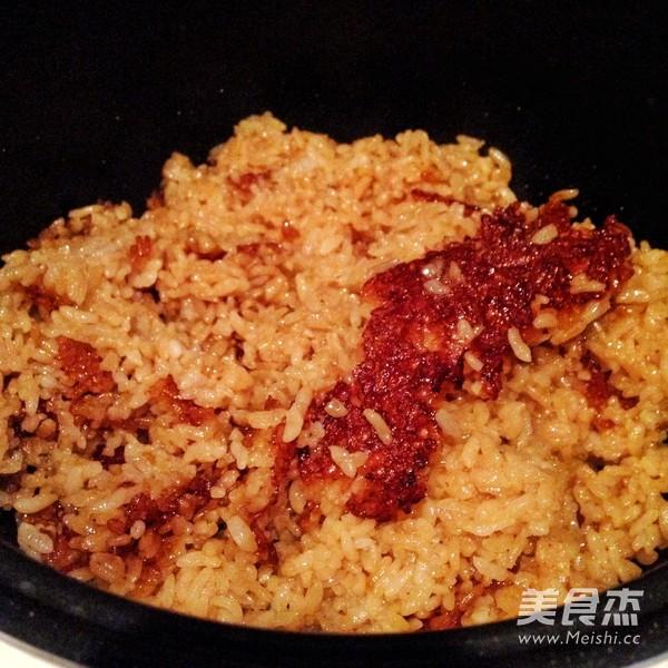 广式腊味煲仔饭(电饭锅版)怎么煸