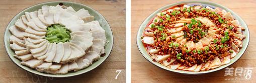 蒜泥白肉的简单做法