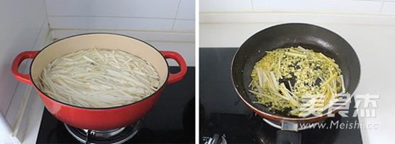 鱼香茭白的家常做法
