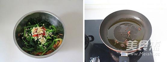 菠菜拌豆皮的家常做法