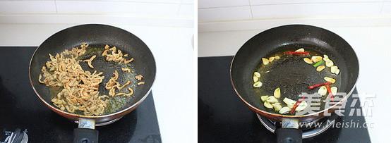 豆芽肉丝炒粉条的做法图解