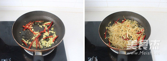 干煸杏鲍菇的家常做法