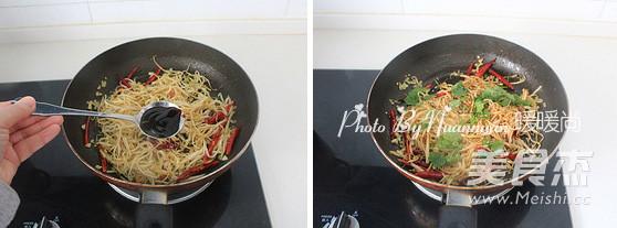 干煸杏鲍菇的简单做法