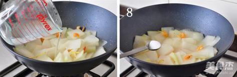 海米烧冬瓜的简单做法