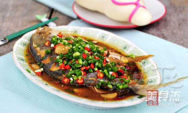 红烧鲳鱼成品图