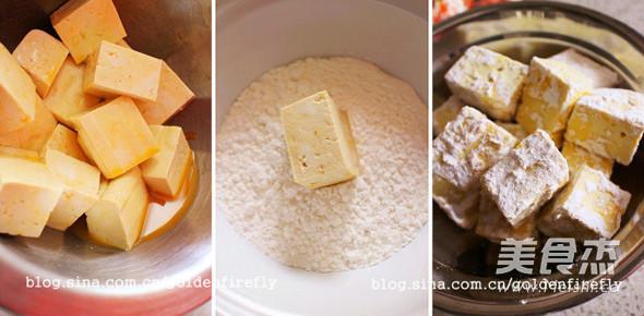酱淋香脆豆腐的做法图解