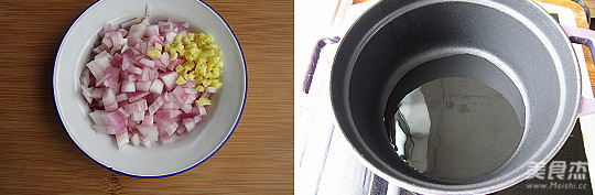 洋葱卤肉饭的做法图解