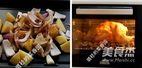香酥烤鸡的家常做法