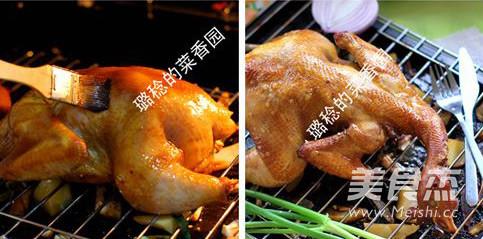 香酥烤鸡的简单做法