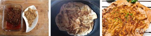 肉松酱饼的家常做法