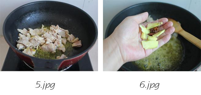 干锅菜花的家常做法