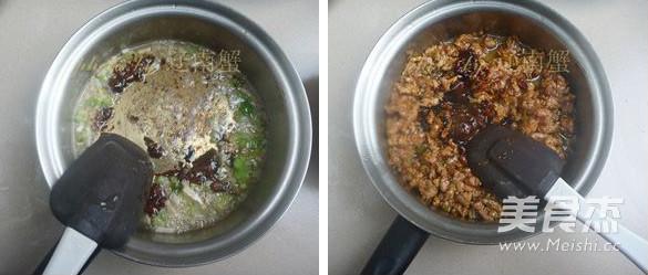 肉末米粉的简单做法
