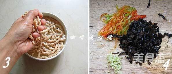 鱼香素肉丝的做法图解